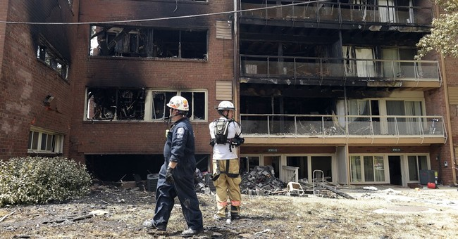 5th body found after apartment explosion; search continues