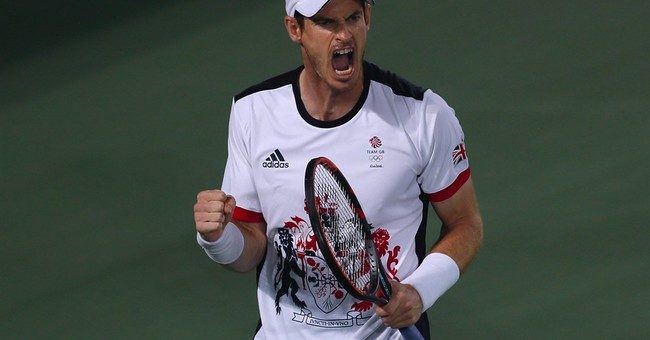 Andy Murray 1st to win 2 Olympic tennis singles golds