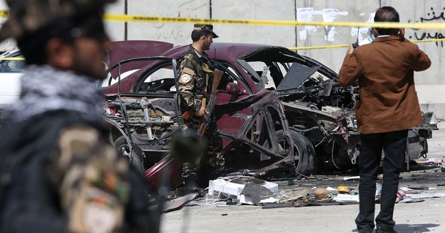 Afghan official: Bomb attack targets army in Kabul, wounds 2