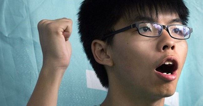 Hong Kong protest leaders avoid jail time for illegal rally