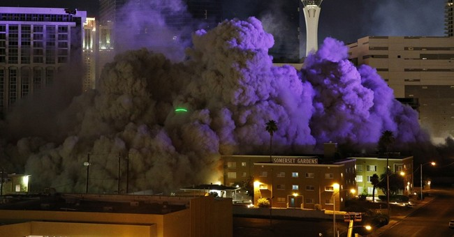Final Riviera casino tower due for implosion on Vegas Strip