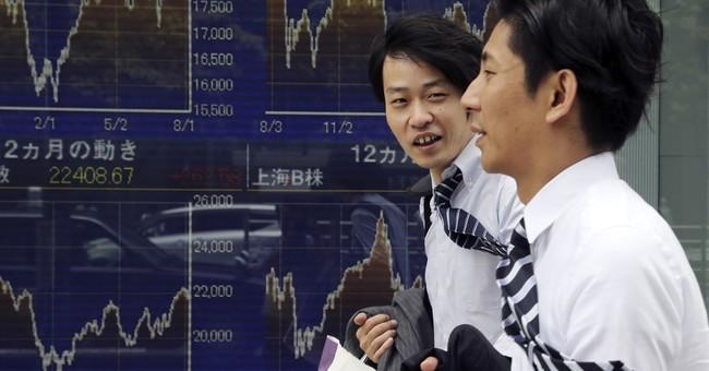 Global stocks edge higher as markets await US economic data