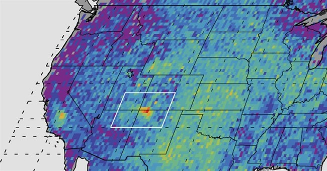 Study: Most of methane hot spot comes from natural gas leaks