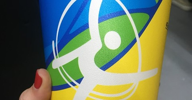 Cup Craze: Souvenir Olympic cups are suddenly a hot item