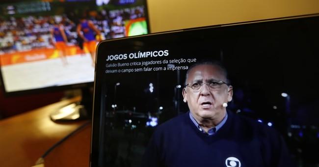 An Olympic message to the Brazilian Bob Costas: Shut it!