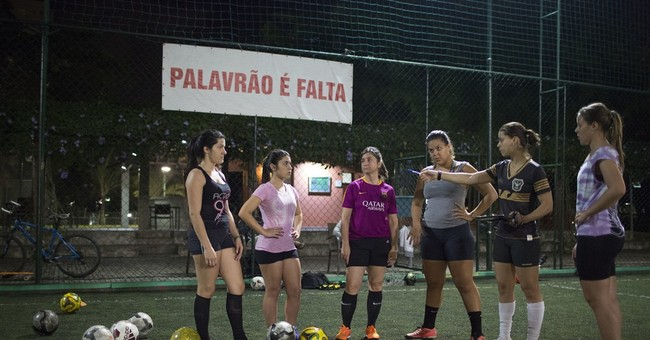 Rio Games shine light on lack of sports for Brazilian girls