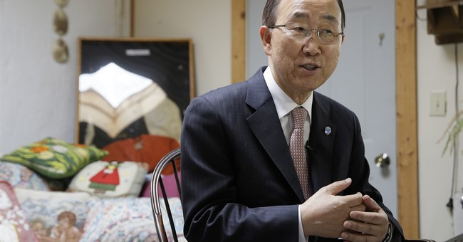 UN chief says he'd like a woman to be next secretary-general