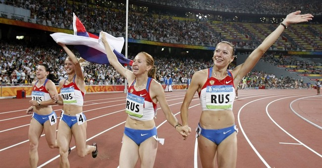 Russian loses women's relay gold from '08 in doping case