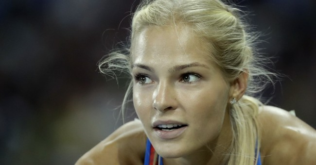 Klishina relieved to compete, qualify for Olympic final