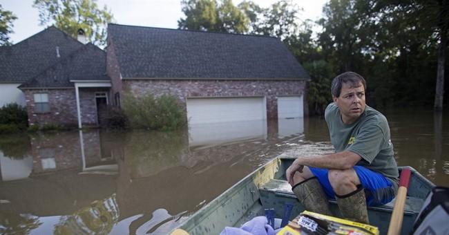 40K homes damaged by Louisiana floods; 10 killed