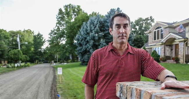 Omaha's answer to pothole complaints: a new dirt road