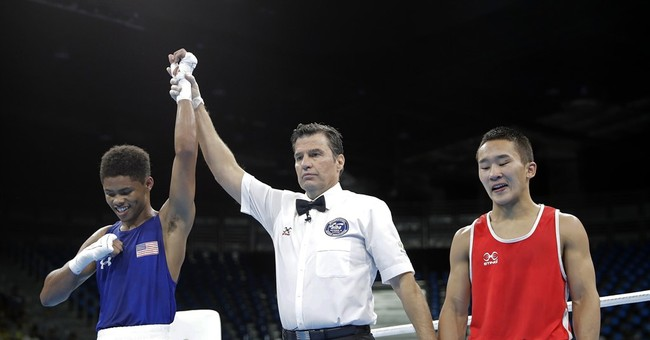 Stevenson advances to boxing final after Nikitin ruled out