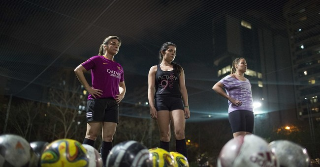 Rio Games shine light on lack of sports for Brazilian girls