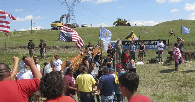 Oil pipeline construction halted amid talks with protesters