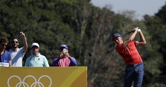 Day misses all but 1 hole of Olympic golf