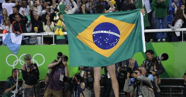 Braz da Silva beats Lavillenie, wins Olympic gold for Brazil
