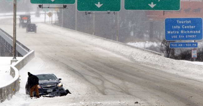 AP PHOTOS: Images from winter storm slamming the East Coast