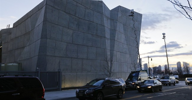 NYC salt shed, hailed as art, gets first winter test