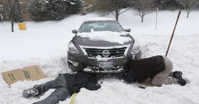 In snow-covered Richmond, a good Samaritan in 4-wheel drive
