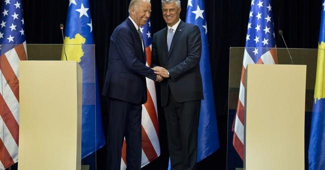 US Vice President Biden urges Serbia-Kosovo reconciliation