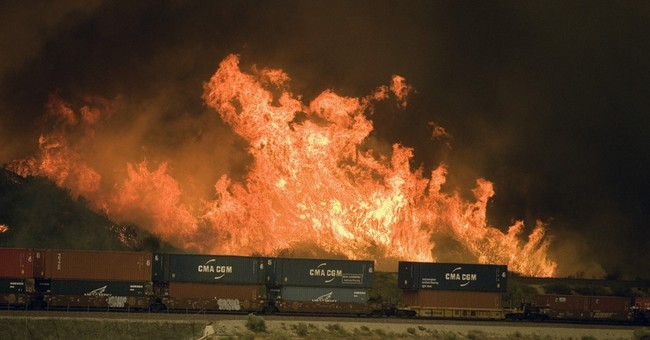 Wildfire burns with ferocity never seen by fire crews