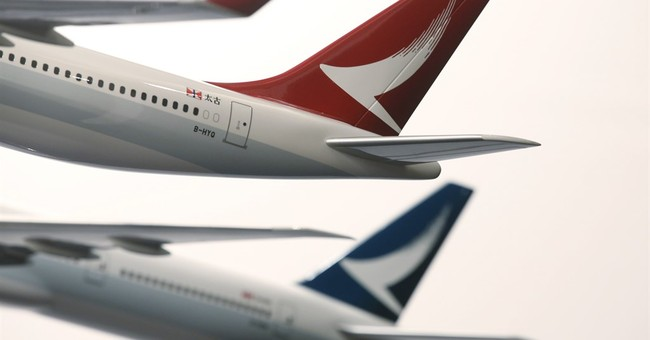 Hong Kong airline Cathay's 1H profit tumbles 82 percent