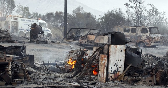 The Latest: 268 structures charred in Northern California