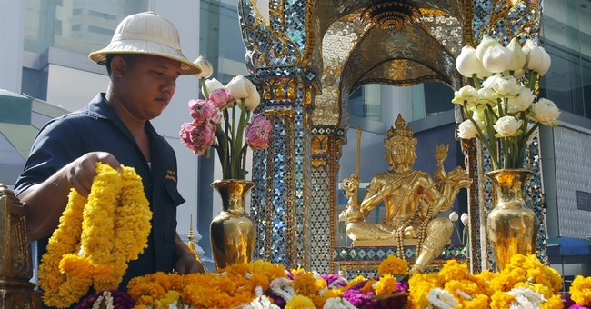 Image of Asia: Thais mark anniversary of deadly shrine bomb