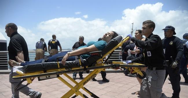 Passengers on burning ship near Puerto Rico recall ordeal