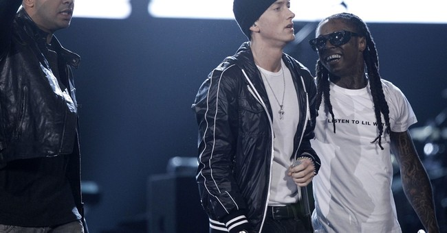 Eminem joins Drake on stage to quash rumored quarrel