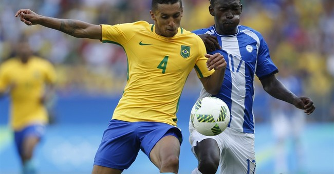 Brazil's Olympic soccer strength more than its strikers