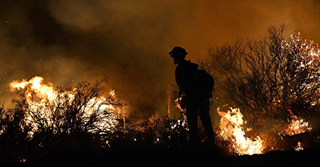 Furious California wildfire leaves trail of destruction