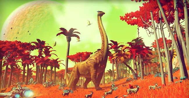 Review: Moments of awe, hours of tedium in 'No Man's Sky'