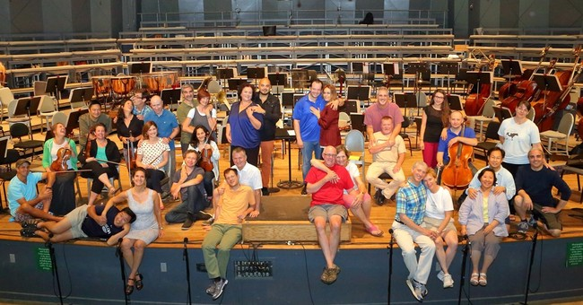 Marital harmony leads to musical bliss at symphony orchestra