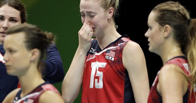 No. 1 US women fall in 5 sets in volleyball semis to Serbia
