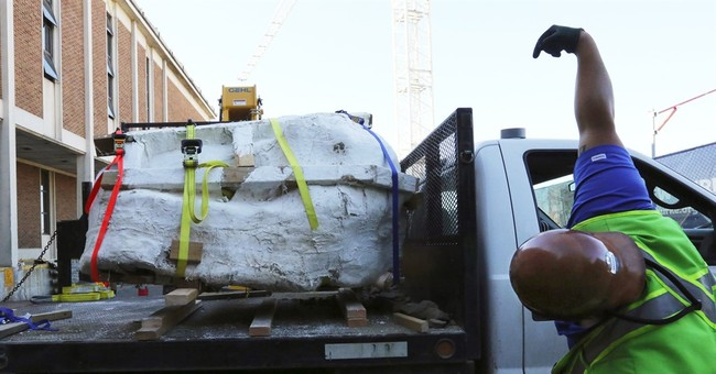 Rare Tyrannosaurus rex skull arrives at Seattle museum