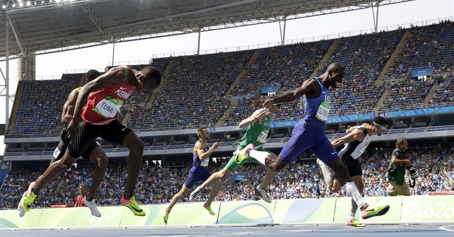 Bolt grabs another gold as Lochte saga consumes Rio Games