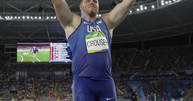 Ashton Eaton ties Olympic record, but it's Bolt's show again