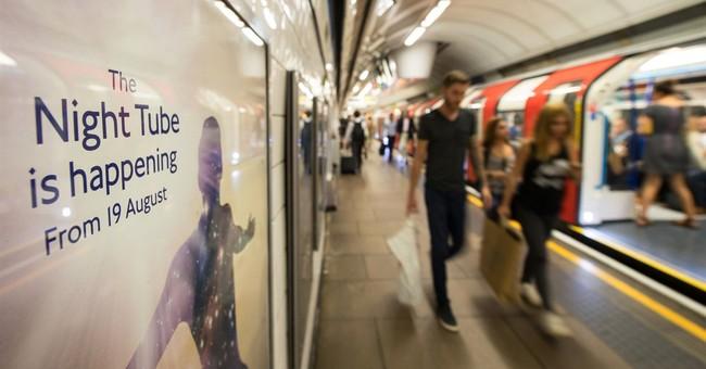 London's mayor says overnight subway will boost economy