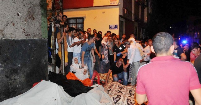 Officials: 30 killed, 94 hurt in wedding attack in Turkey
