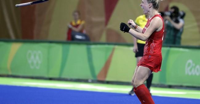 Britain tops Netherlands, wins 1st women's field hockey gold