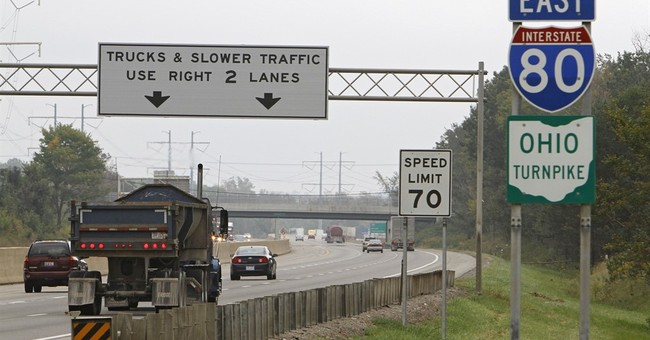 APNewsBreak: Ohio Turnpike may soon see self-driving testing