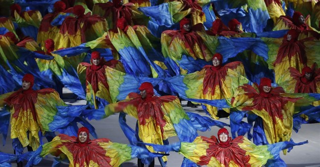 The Latest: Rio Games close with samba-fueled Carnival party