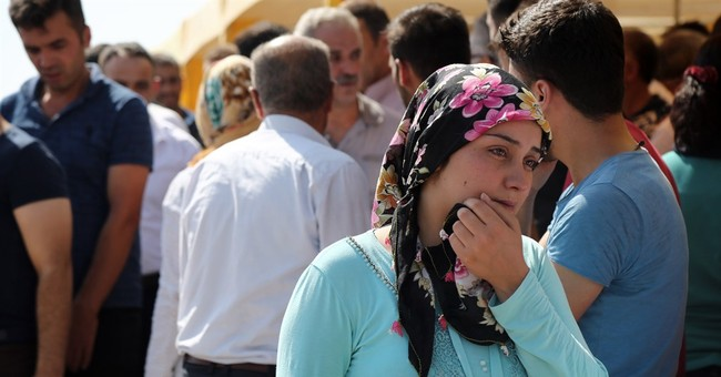 Young suicide bomber attacks Turkish wedding party; 51 die