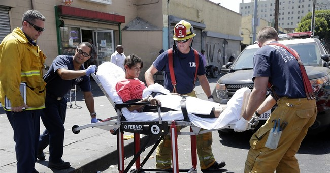 More sicknesses reported on Skid Row in downtown Los Angeles