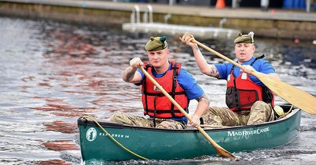 Soldiers in UK's Scottish unit plan 340-mile US canoe trip