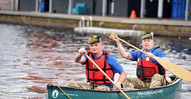 Soldiers in UK's Scottish unit plan 340-mile US canoe trip