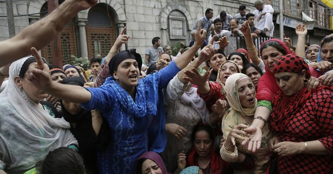 Image of Asia: Protesting killings of civilians in Kashmir