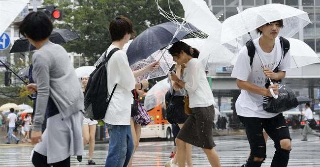 Typhoon Mindulle shuts Tokyo's Narita airport control tower