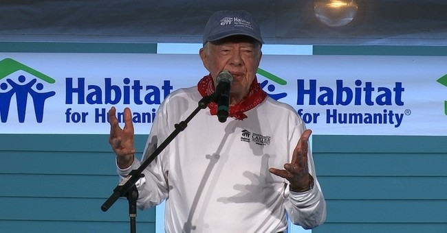 Carter says presidential candidates are 'quite unpopular'